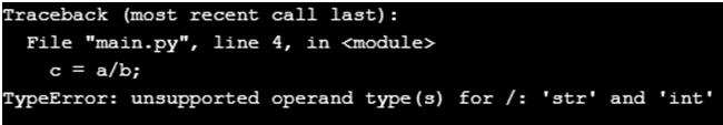 Python TypeError-1.4