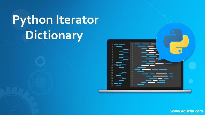 Python iterator dictonary