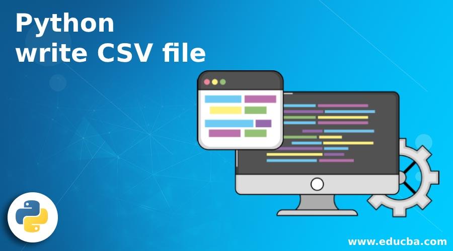 Python write CSV file