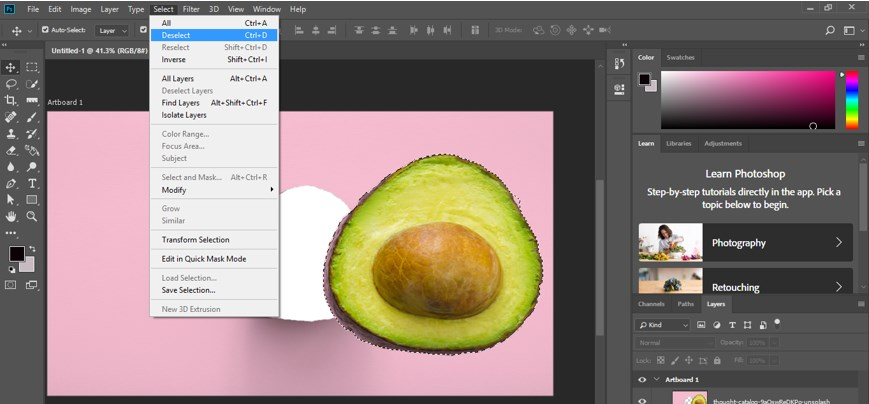 Resize Object in Photoshop - 13