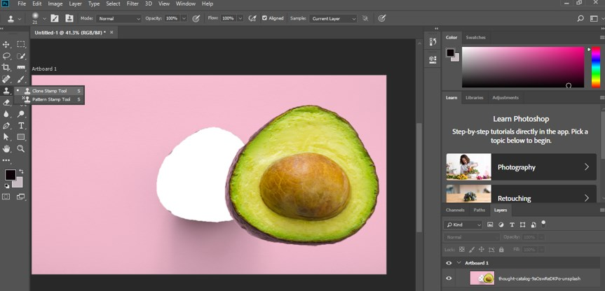 Resize Object in Photoshop - 14
