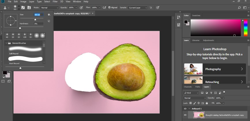 Resize Object in Photoshop - 15