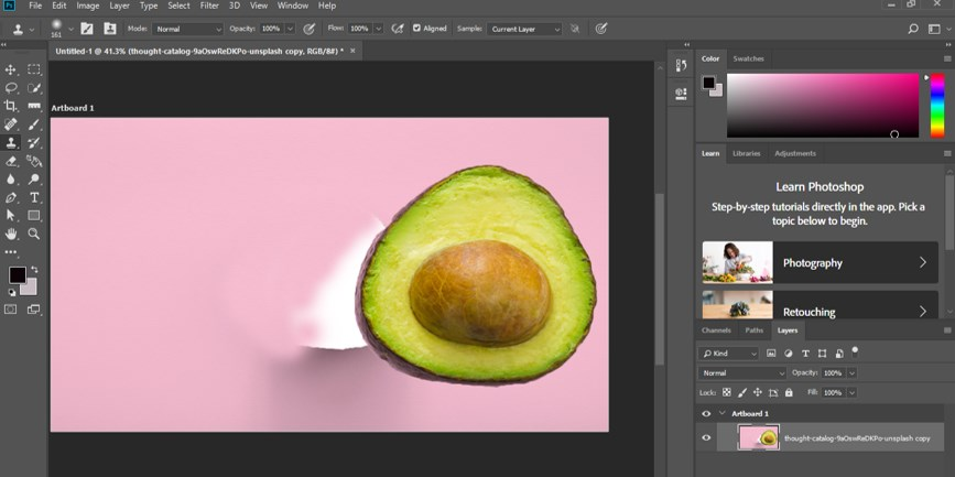 Resize Object in Photoshop - 16