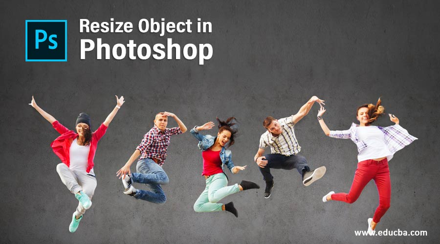 Resize Object in Photoshop