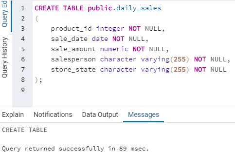 SQL LEAD() - 1