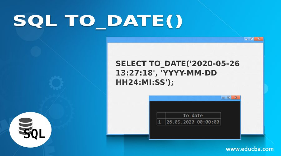 SQL TO_DATE()