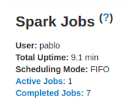 Spark web UI Example1