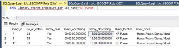 Stored Procedure in SQL6