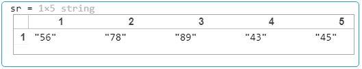 convert a numeric array