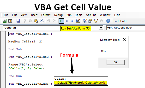 VBA Get Cell Value
