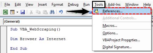 VBA Web Scraping Example 4