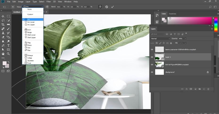 Warp Image Photoshop - 14