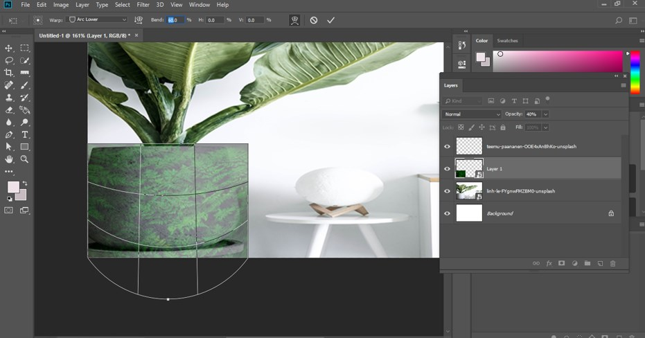 Warp Image Photoshop - 16