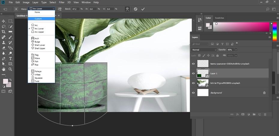 Warp Image Photoshop - 20