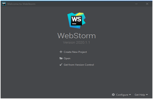 WebStorm IDE Example 1