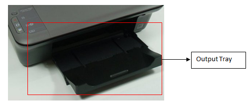 Output Tray Example 3
