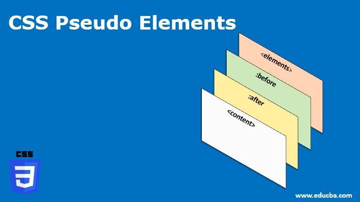 css pesudo elements