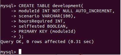 delete database mysql7