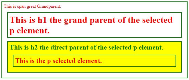 jQuery Parent-1.1