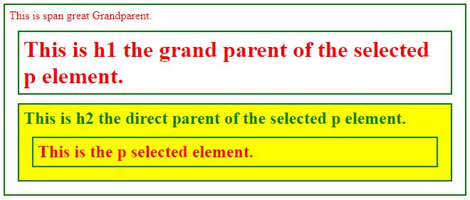jQuery Parent-1.1