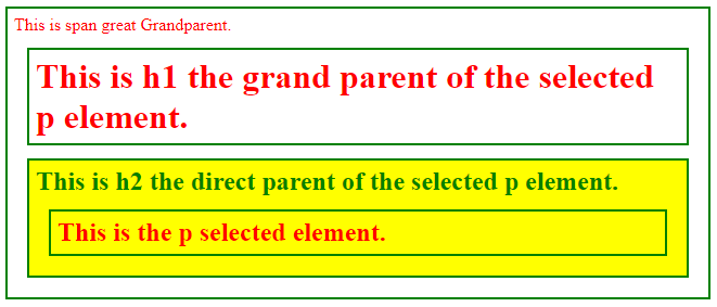 jQuery Parent-1.2
