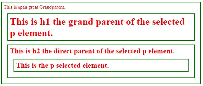 jQuery Parent-1.3