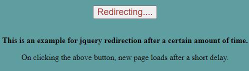 Redirecting Example 3