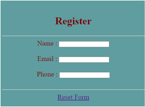 jQuery Reset Form-1.1