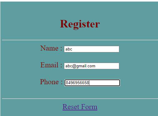 jQuery Reset Form-1.2