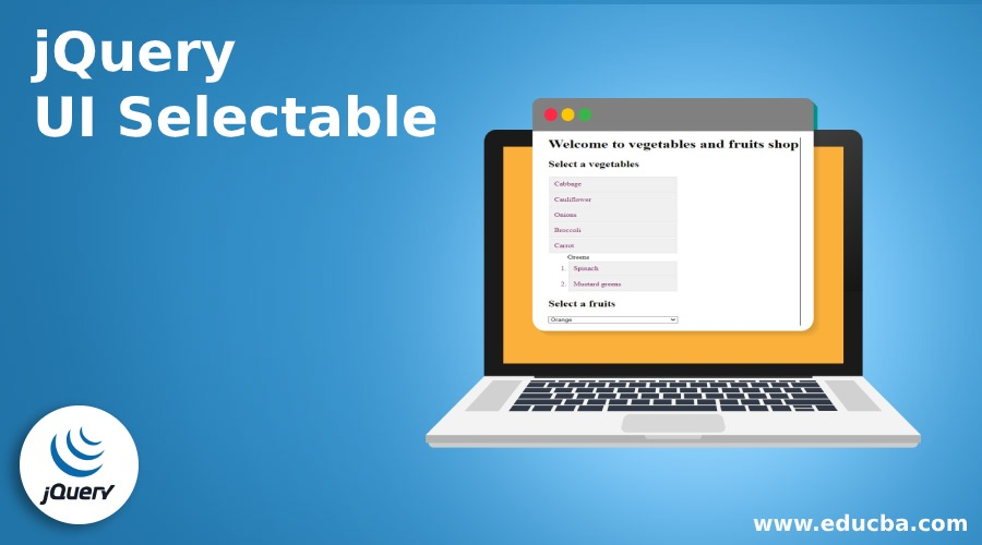 jQuery UI Selectable