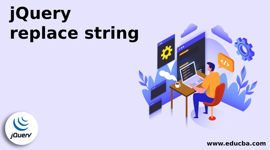 jQuery replace string