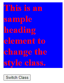 jQuery switchClass()-1.2