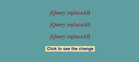 jquery replace string3