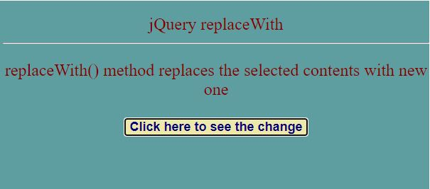 jquery replace string5