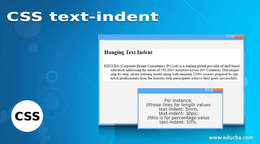 CSS text-indent