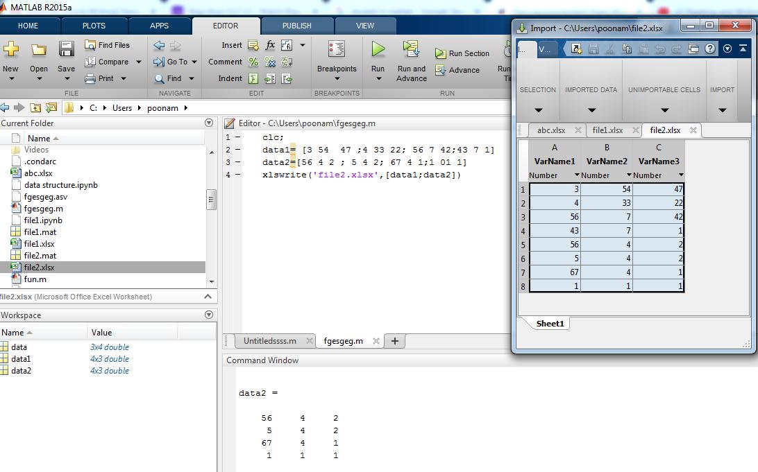 xlsread Matlab-1.3