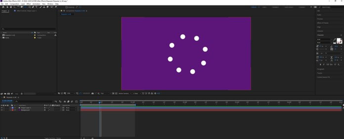 After Effects Repeater - 20