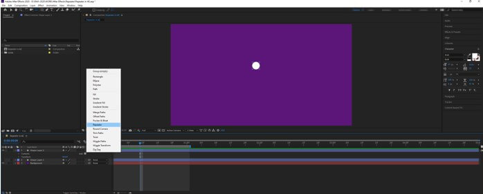 After Effects Repeater - 25