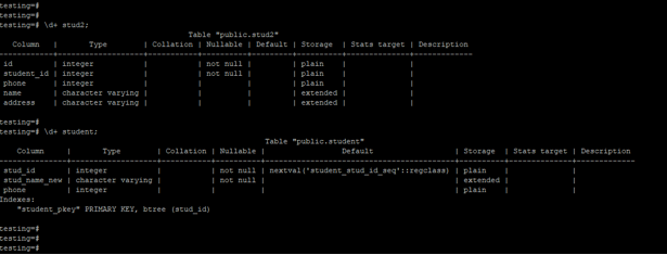 Alter Column in PostgreSQL - 2