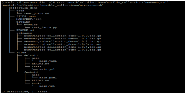 Ansible Collections output 2