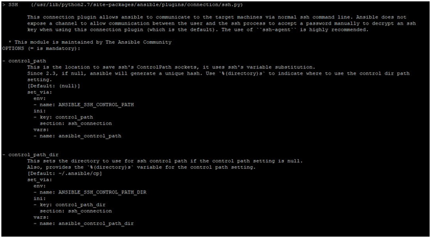 ansible-doc Example 6