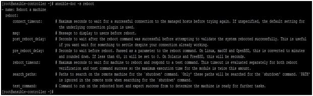Reboot Module Example 3
