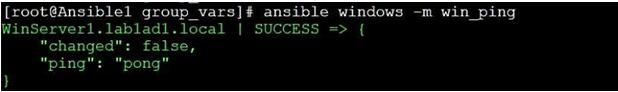 Ansible Windows Modules-1.1