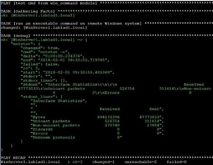 Ansible Windows Modules-1.2