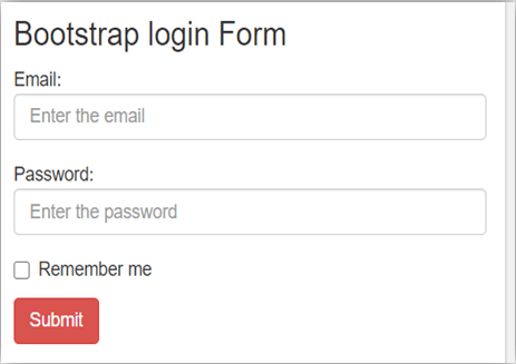 Bootstrap Input Type-1.2