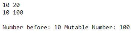 C++ Mutable 2