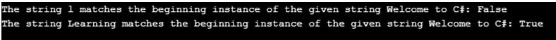 C# StartsWith()-1.2