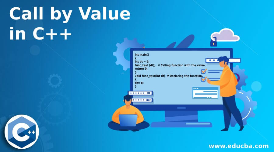 Call by Value in C++
