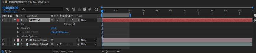Camera Tracking in After Effect - 15