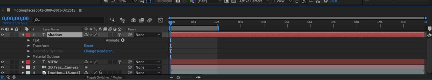 Camera Tracking in After Effect - 21